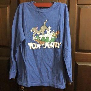 Boys Old Navy Tom & Jerry Long Sleeve